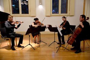 Konzert II 03.09.16 Hiltrud Kuhlmann und das Vagabond Quartett