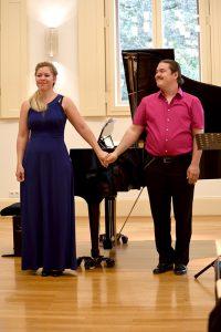 Konzert II 04.09.16 Melania und Daniel Kluge